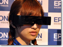 Epson presents world's first see-through 3D head-mounted display