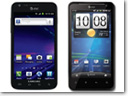 AT&T, HTC and Samsung announce first LTE phones