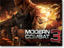 Modern Combat 3 released for Android