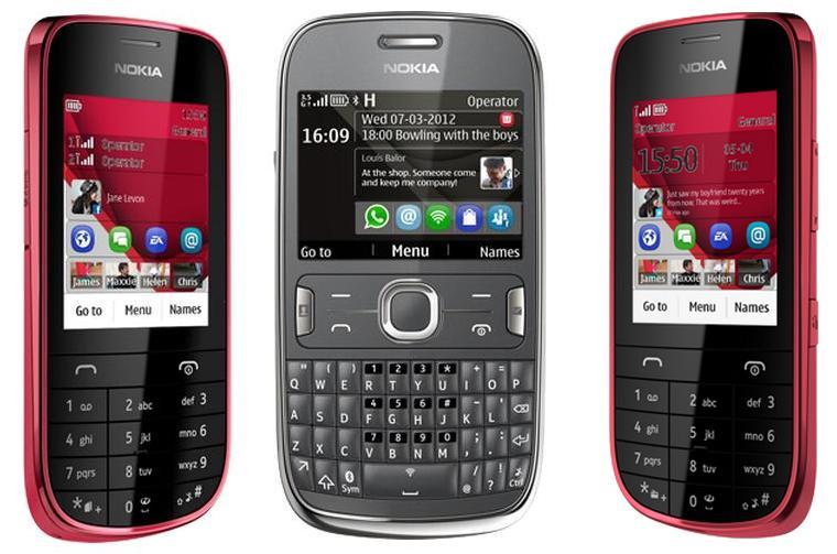 Nokia Asha 302 203 202