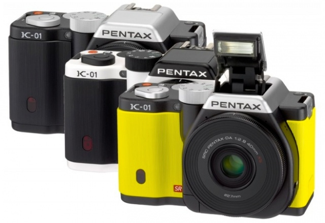 Pentax K-01 digital camera