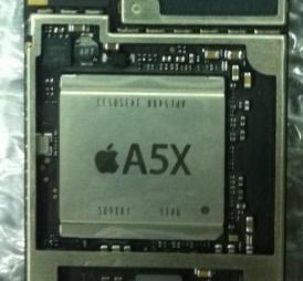 iPad 3 A5X processor