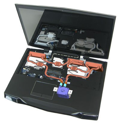 Asetek laptop liquid cooling