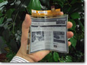 LG Display mass produces first e-paper in the world