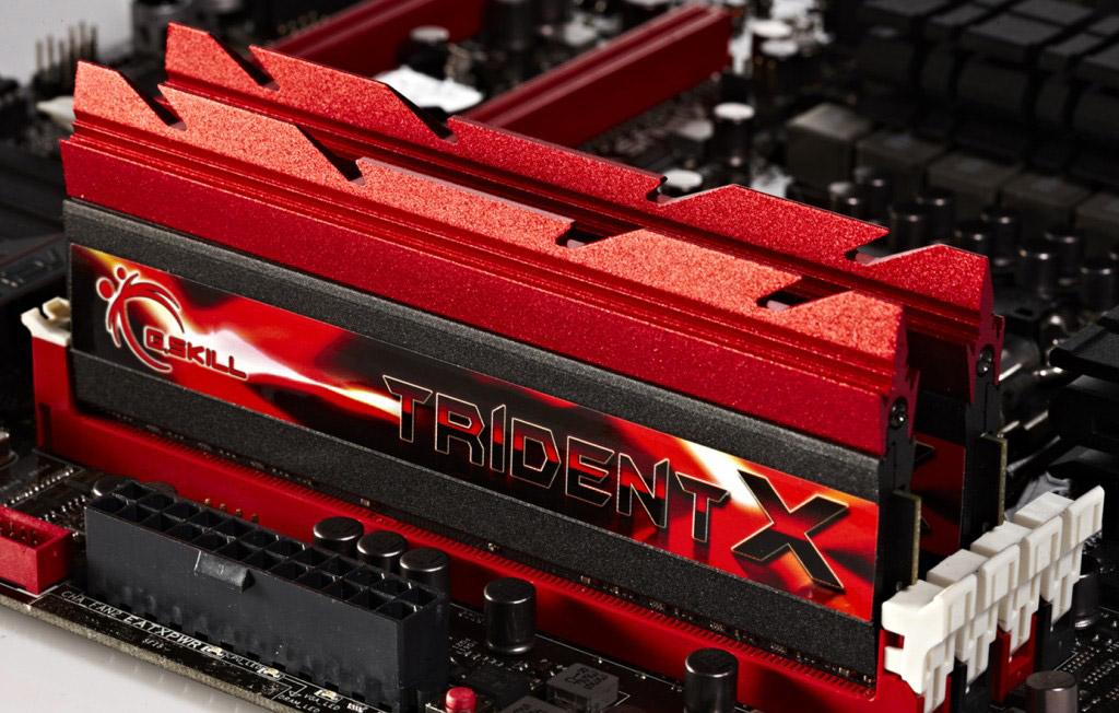 G.Skill TridentX DDR3