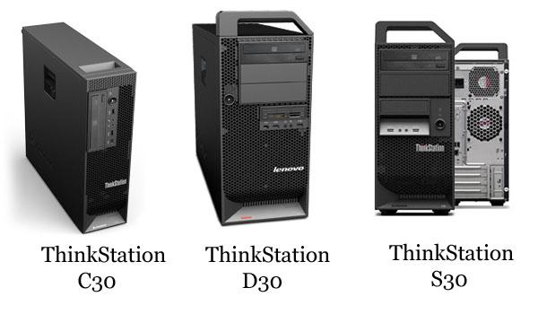Lenovo ThinkStation C30 D30 S30
