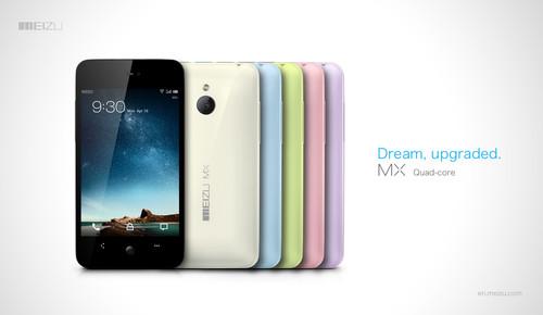 Meizu MX smartphones