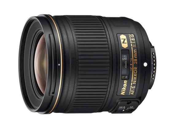 Nikon AF-S NIKKOR 28 mm lens