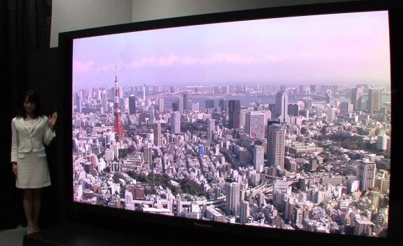 Panasonic NHK 145-inch display
