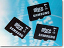 Samsung initiates production of ultra fast microSD card