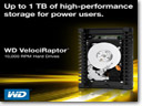 Western Digital updates product list with new 1 TB VelociRaptor hard drive