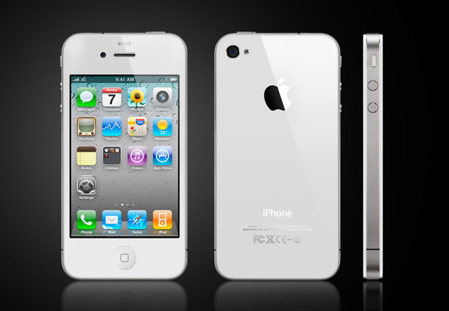 iPhone 4S smartphone