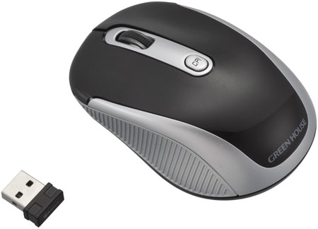 Green House GH-MUWAS wireless mouse