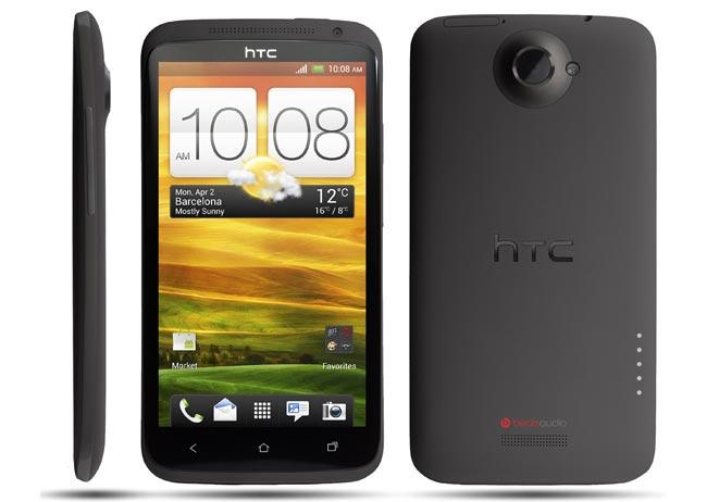 HTC One X smartphone