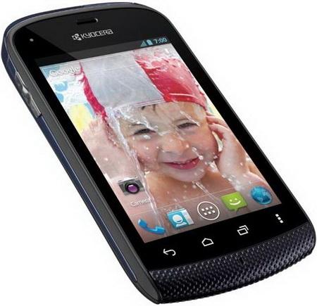 Kyocera Hydro smartphone