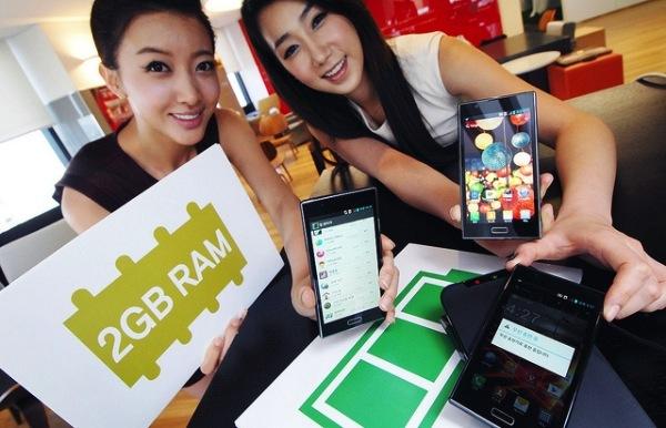 LG Optimus LTE2 smartphone