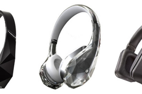 Monster demos new headphones
