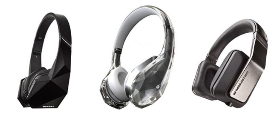 Monster demos new headphones