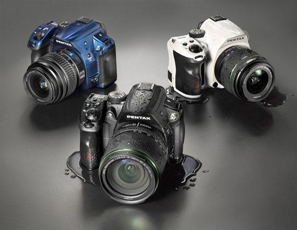 Pentax K-30 DSLR camera