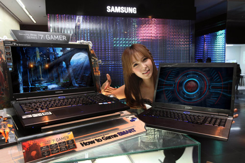 Samsung Series 7 gaming laptops