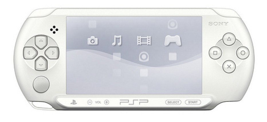 Sony reveals Ice White PSP-E1000