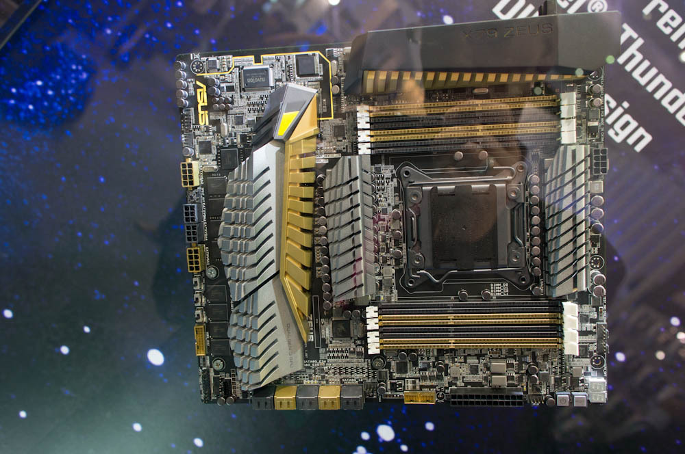 ASUS Zeus motherboard