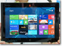 Lenovo demonstrates Windows 8 ThinkPad tablet