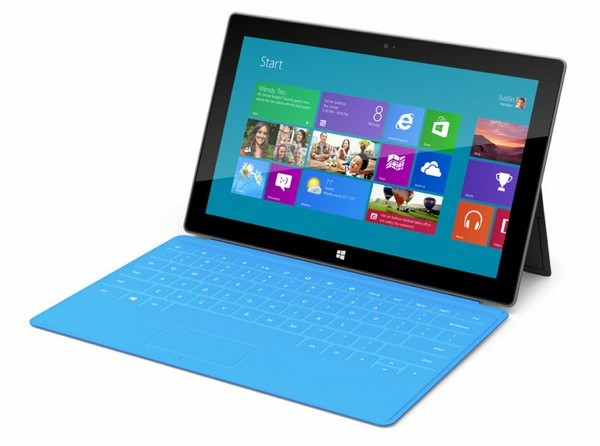 Microsoft Surface RT tablet device