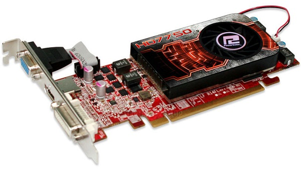 PowerColor HD7750 LP