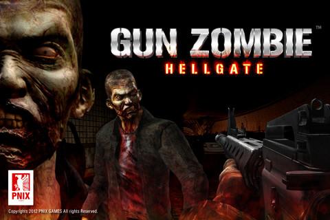 Gun Zombie Hell Gate Logo