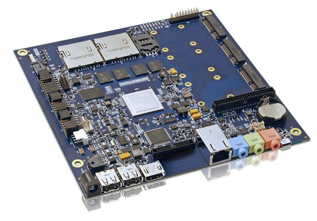 Kontron Tegra 3 Mini ITX motherboard