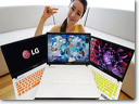 LG touts two new laptops – the N550 and N450