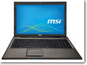 MSI launches CX61, CR61 multimedia laptops