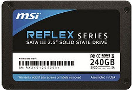 MSI Reflex SSD