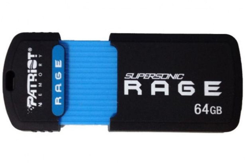 Patriot Memory starts sales of Supersonic Rage USB 3.0 flash drive