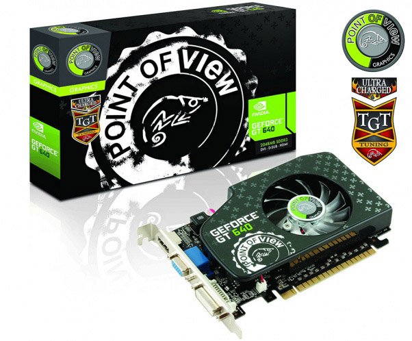 Point of Vide GeForce GT 640