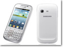Samsung introduces Galaxy Chat QWERTY smartphone