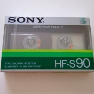 Sony debuts new… audiotapes