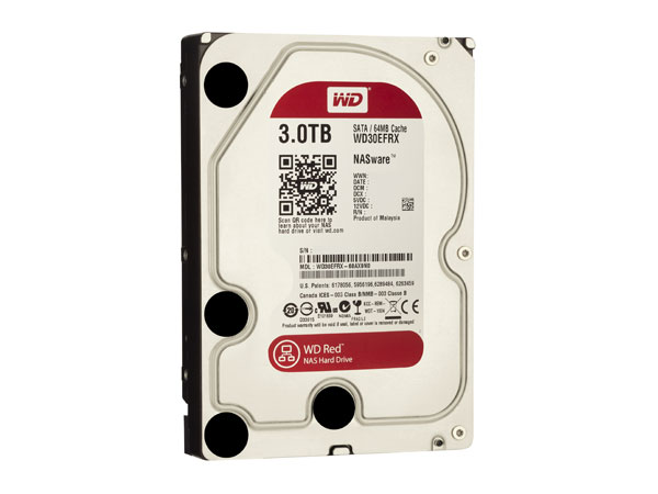 WD Red hard drive