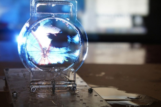 worlds thinnest transparent screen