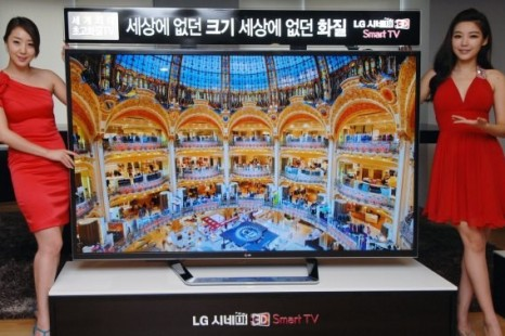 LG releases monstrous ultra-definition TV set