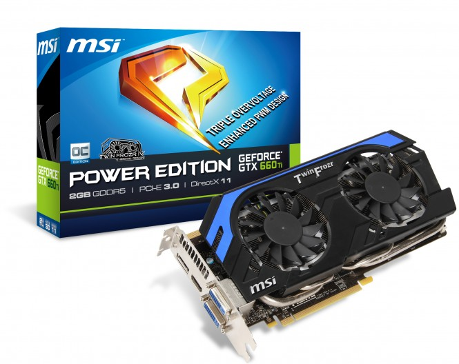 MSI NGTX 660 Ti Power Edition
