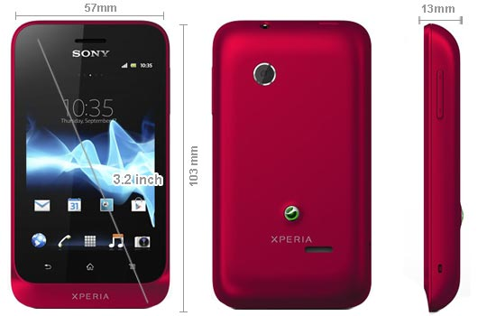 Sony Mobile Xperia Tipo