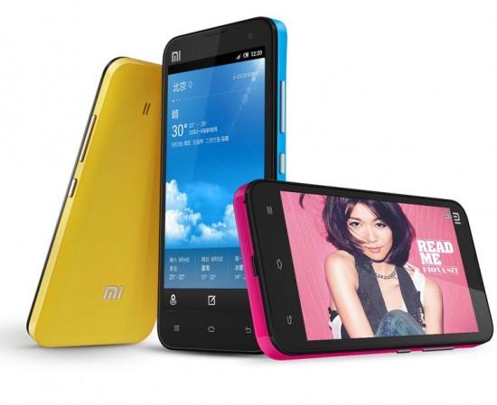 Xiaomi Mi2 smartphone