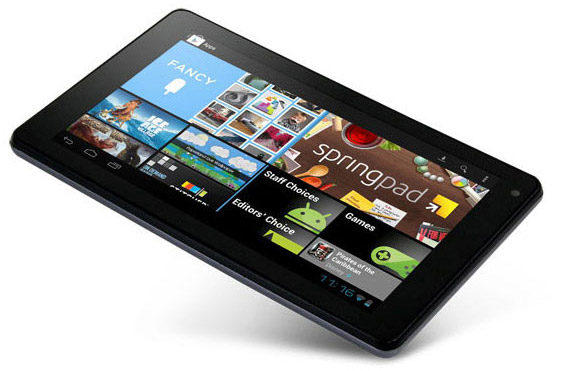 Gardner Books GoTab tablet