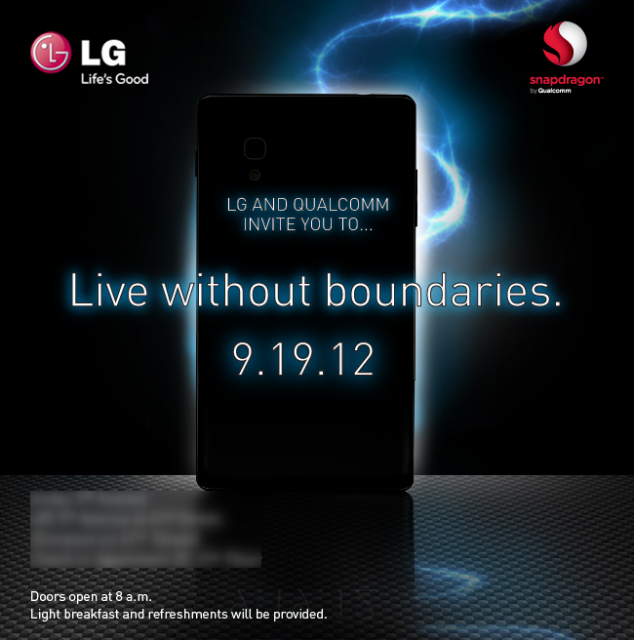 LG launch event