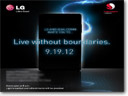 LG to launch new smartphone on September 19