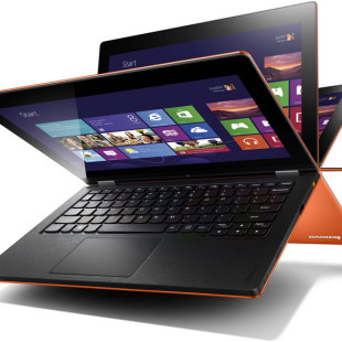 Lenovo launches convertible devices for Windows 8