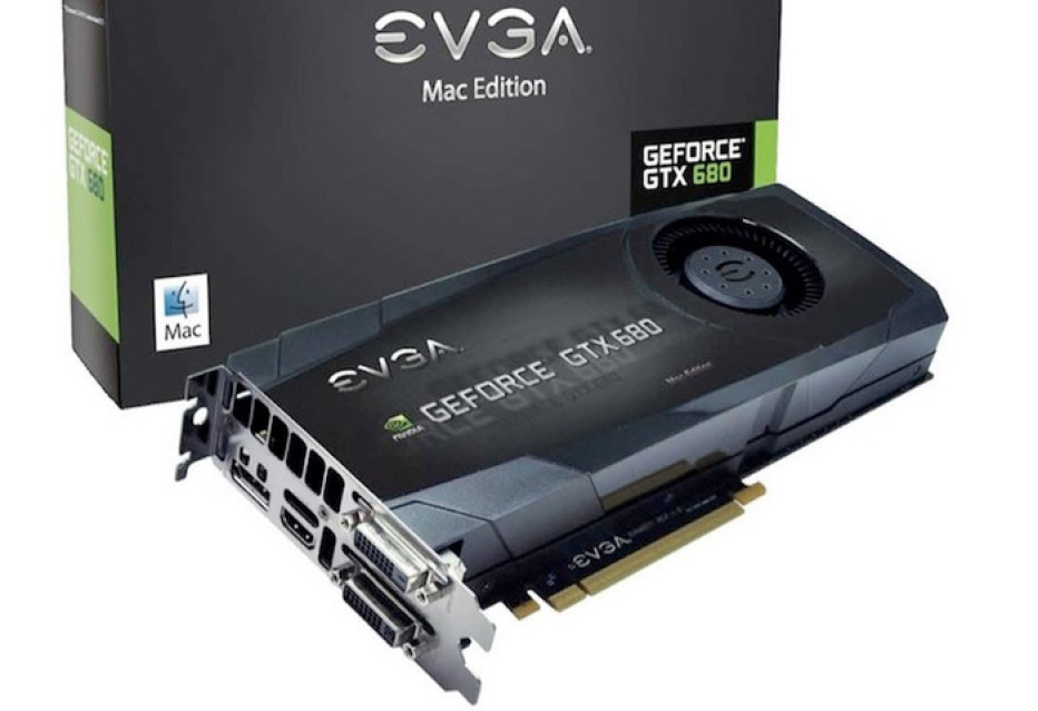 EVGA offers GeForce GTX 680 Mac Edition