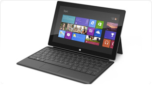 Microsoft works on Surface 2 tablet